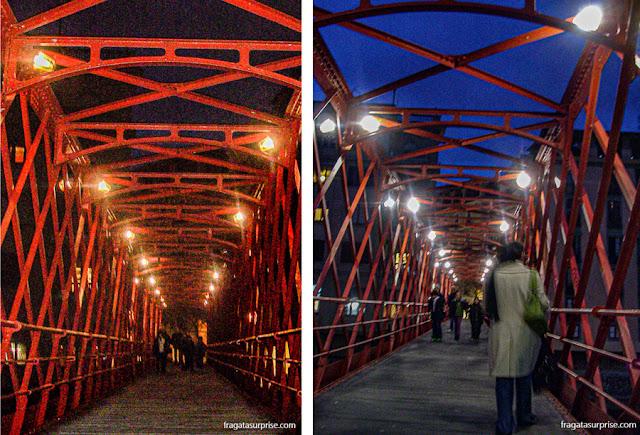 Pont de les Peixateries, obra de Gustave Eiffel em Girona, Catalunha