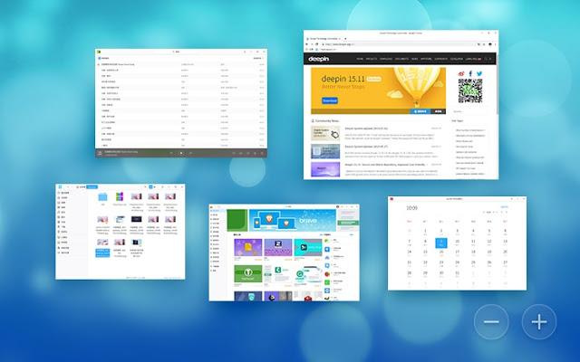 Aplicaciones de Deepin OS