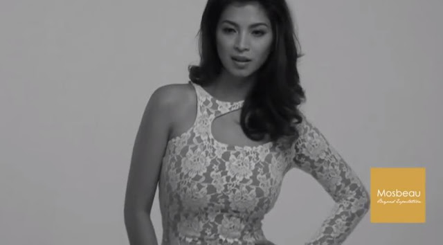 #ThrowbackBTS: Angel Locsin's 2013 Shoot For Mosbeau Philippines