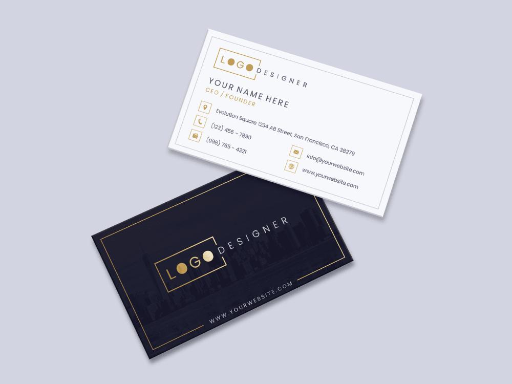 Free Elegant Business Card Design