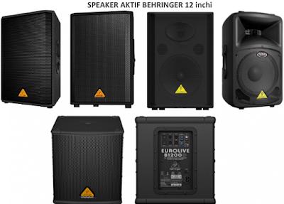 Harga Speaker Behringer 12 inchi