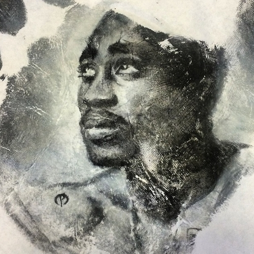 02-2Pac-Tupac-Shakur-Russell-Powell-Hand-Body-Painting-Transferred-to-Paper-www-designstack-co