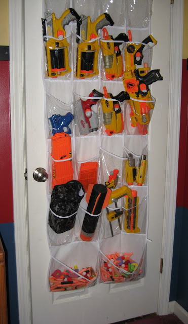 Nerf Shoes With Dart Storage Size