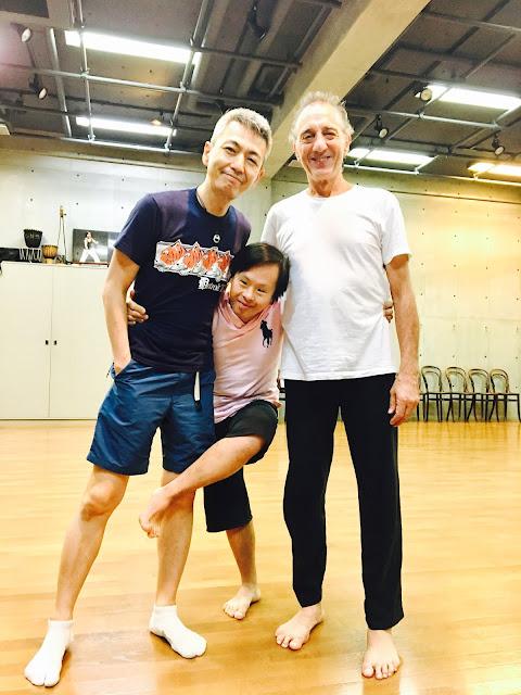 喜多直毅(ヴァイオリニスト)、矢萩竜太郎(ダンサー)、JeanSasportes(ダンサー) 2017年9月14日@いずるば