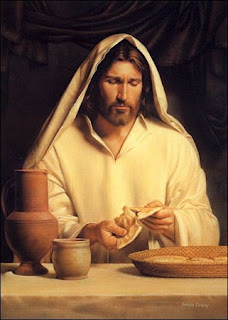 Jesus with bread