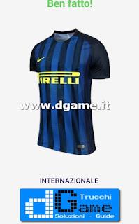 Soluzioni Indovina maglia calcio Italia livello 6