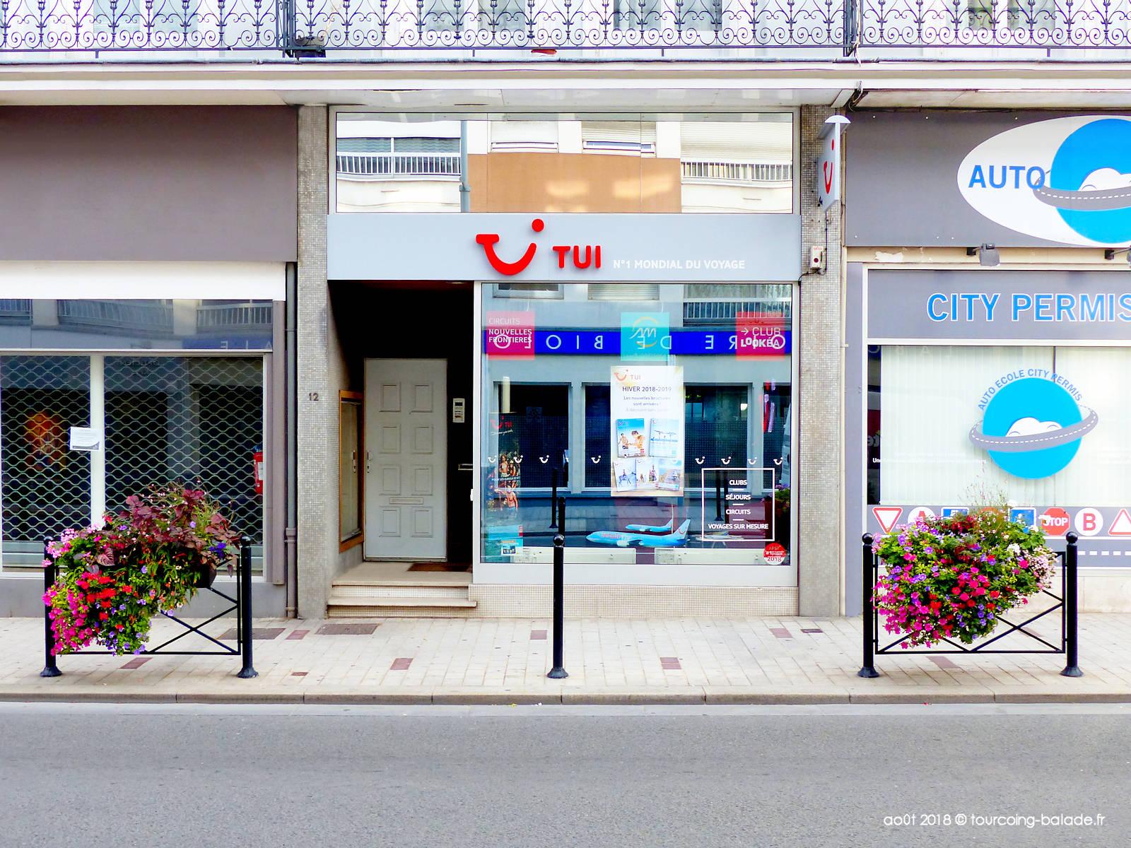 TUI Store, Tourcoing Centre.