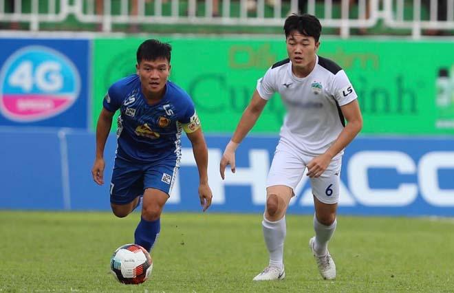 Video HAGL 3-1 Quảng Nam: Siêu phẩm Tuấn Anh, đại tiệc 4 bàn