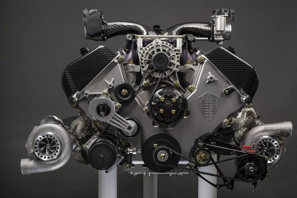 Motor Koenigsegg Jesko Absolut