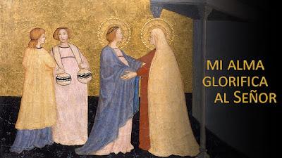 Evangelio de hoy según san Lucas (1:39-56): Mi alma glorifica al Señor