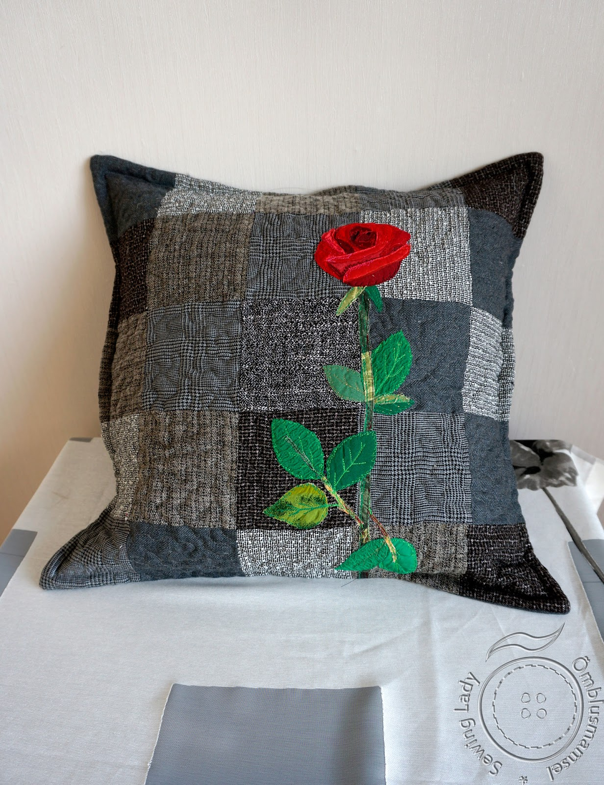 art quilting pillow,