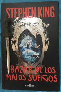 Portada del libro El bazar de los malos sueños, de Stephen King