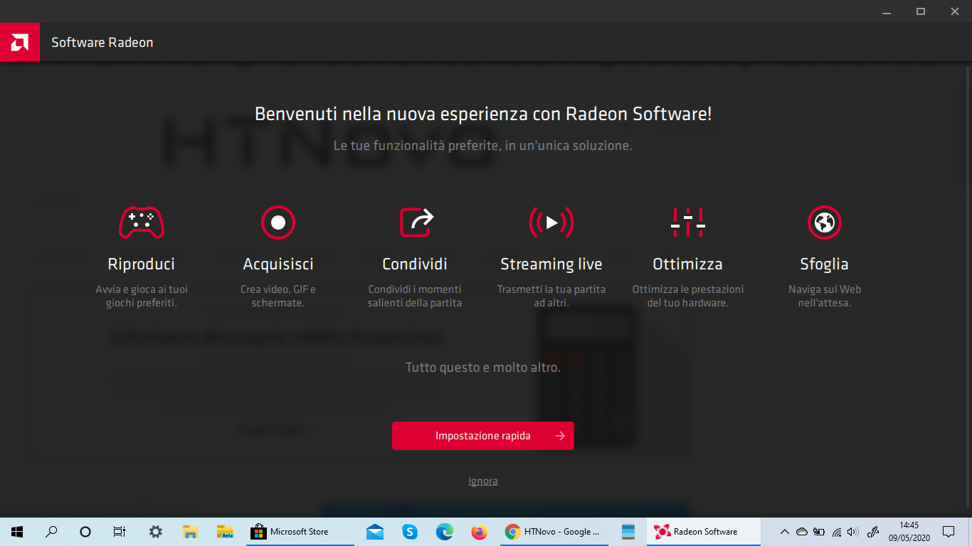 AMD Radeon Software per Windows 10 si aggiorna da Store e sostituisce l'app desktop
