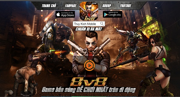 Truy Kich Mobile – 8vs8 v1.99.13 Apk Mod