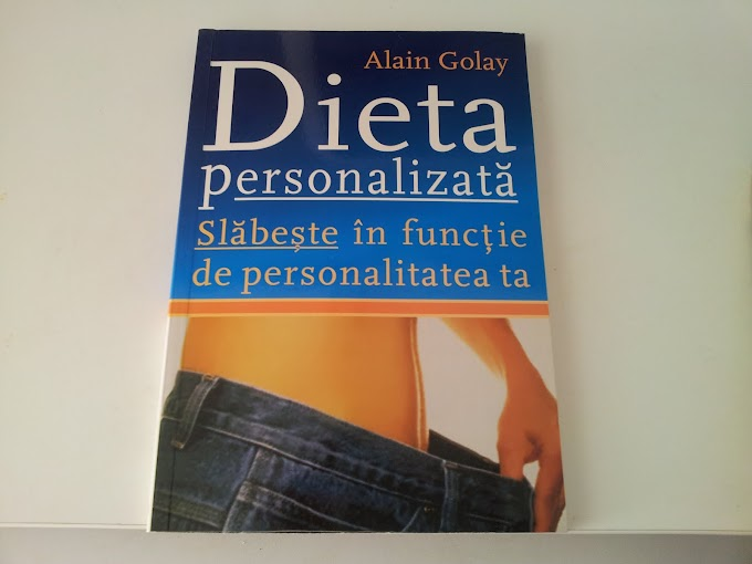 Dieta personalizata - Dr Alain Golay