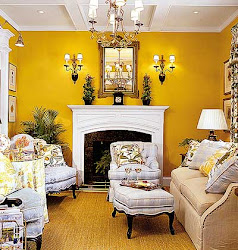 yellow room paint living wall colors walls rooms designs decorating painted livingroom gold painting plans interior orange mustard kitchen golden
