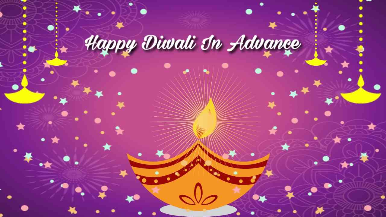 Happy Diwali In Advance Whatsapp Status