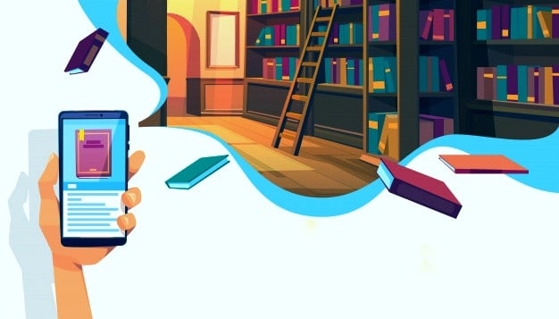 perpustakaan virtual tempat download ebook gratis