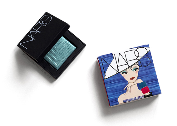 NARS Under Cover Summer Collection Dual Intensity Eyeshadow Deep End Review Photos