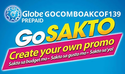 GOCOMBOAKCOF139 : 10mins Calls to Globe/TM/ABS-CBN/Cherry + 20 All-Net Texts