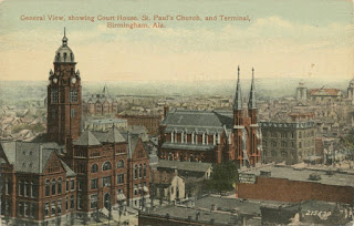 General View of Court House,St Paul's Church and Terminal