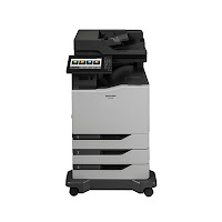 Sharp MX-C557F Driver Printer