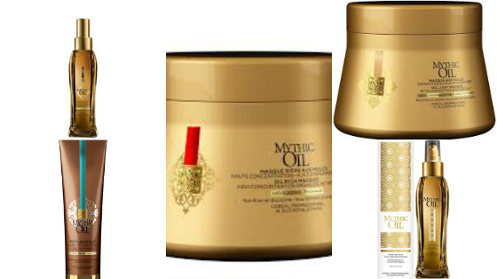 linha loreal mythic oil low poo