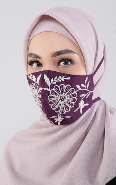 Embroidery Mask.