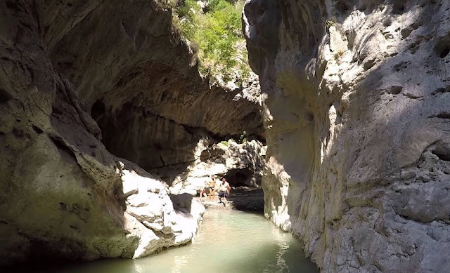 25 year old Albanian tourist drowned in Holta's Canyon