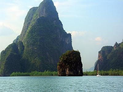 phang nga bay islands and sailing