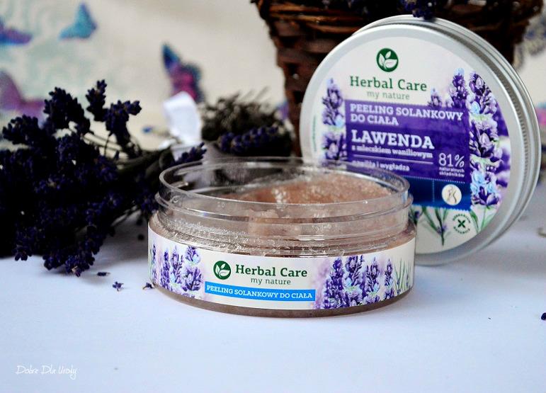 Herbal Care Solankowy peeling do ciała Lawenda z mleczkiem Waniliowym recenzja