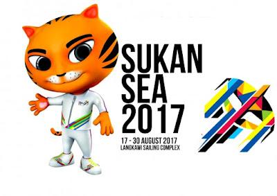 upacara penutupan sukan sea 2017