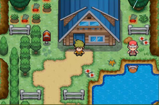 Pokemon Terra Firma para GBA Pueblo Minario