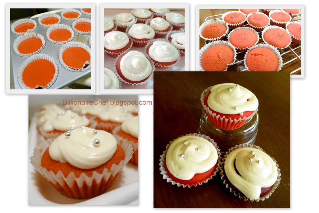 A Billion Chefs Cupcake Recipes Red Velvet Cupcakes With