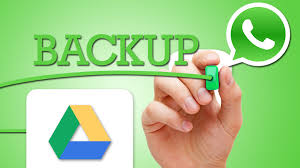 backup whatsapp data on google drive