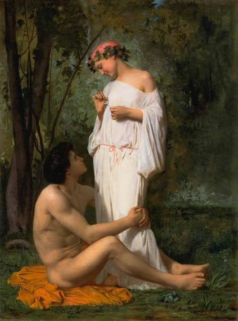 Адольф Вильям Бугро - Идиллия (1851)