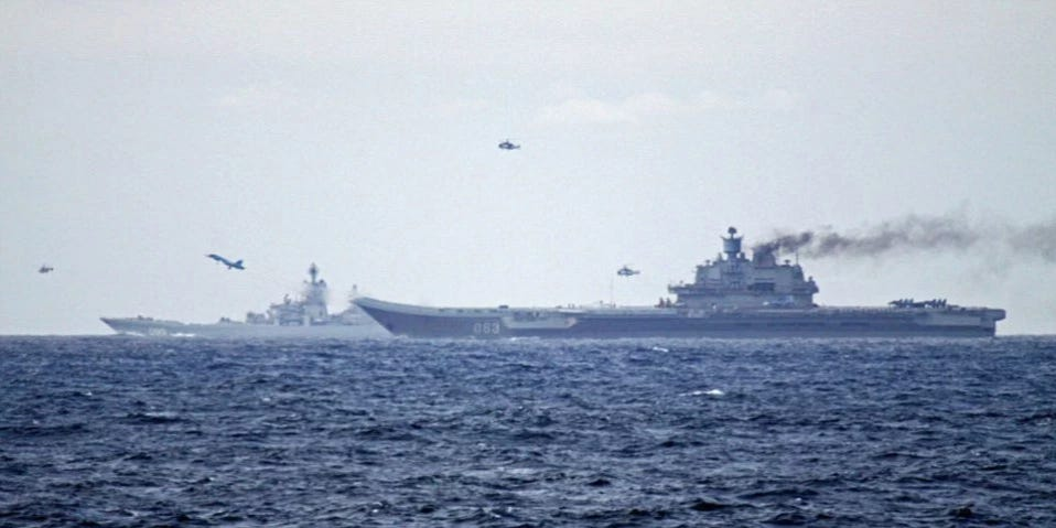 Russian Shtorm Aircraft Carrier Will Carry S-500