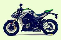Kawasaki Z1000 2014 terbaru