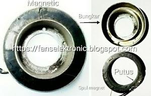 mengatasi ac mobil tidak dingin magnet cluth rusak
