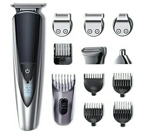 Hatteker Men's Hair Trimmer - Cordless Body Shaver