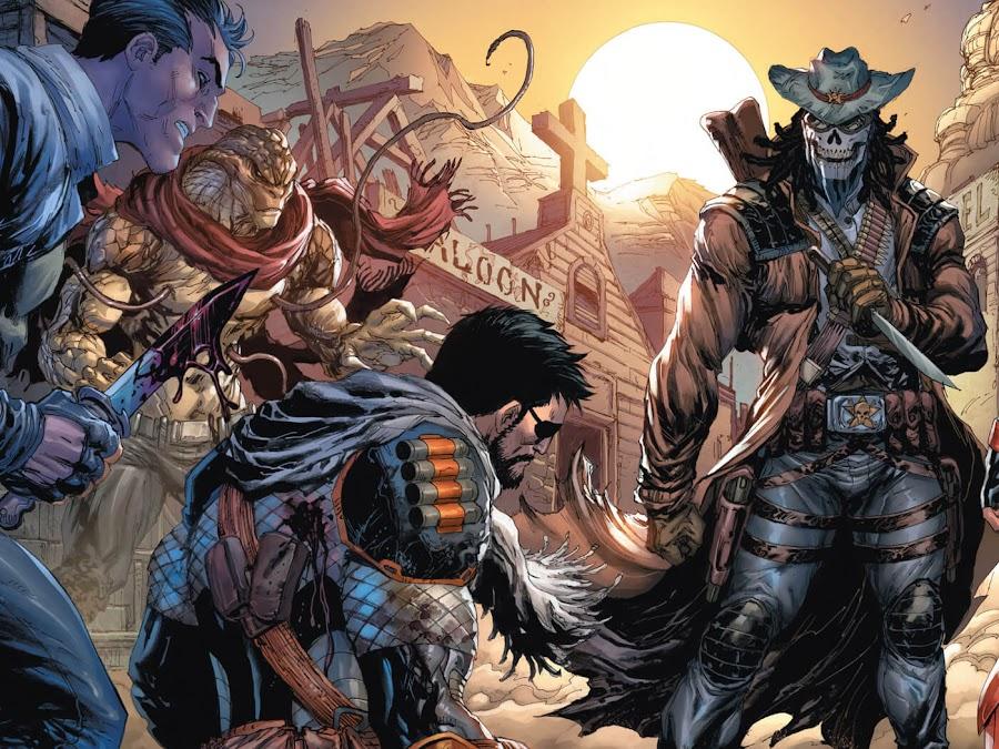 deathstroke slade wilson dc comics new 52 tyler kirkham lawman snakebite