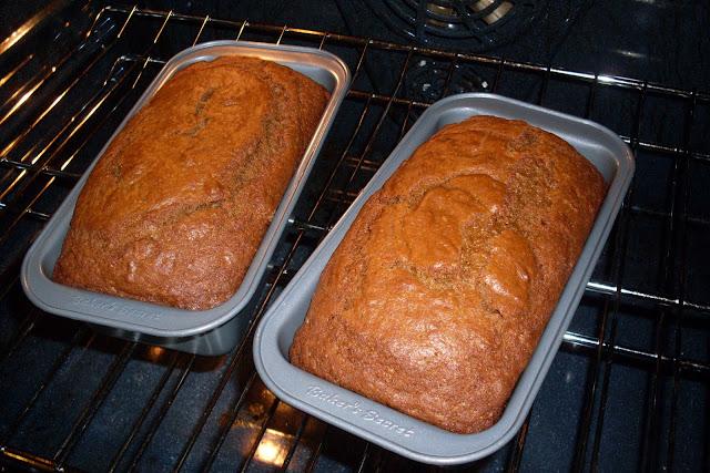 Pumpkin Bread, from The Wooden Spoon Cookbook.