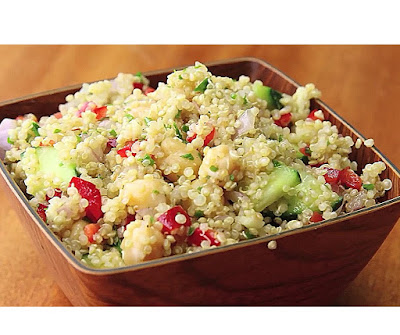 how to make quinoa salad at home