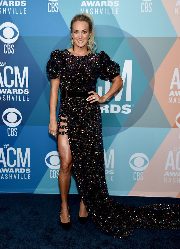 Carpet Dresses Of All Time Carrie Underwood