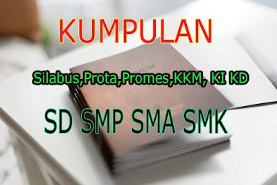File dari prota, promes, SK KD, Pemetaan, SIlabus, dan KKM ini sudah direvisi 2020 dan mengacu pada format RPP guru K13 2020.