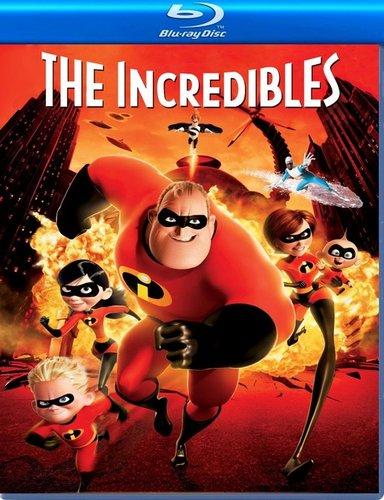 The Incredibles (2004) 720p 850MB Blu-Ray Hindi Dubbed Dual Audio [Hindi ORG DD 2.0 – English DD 2.0]