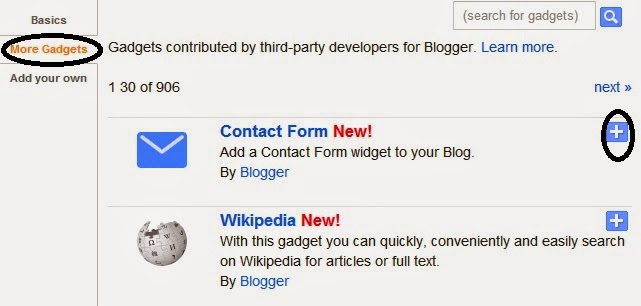 How To Add Contact Me Form In Blogger
