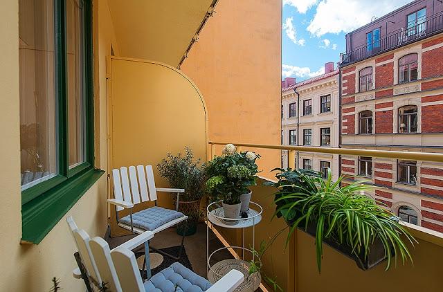 Kitnet ou quitinete decoração minimalista 35 m². Blog Achados de Decoração