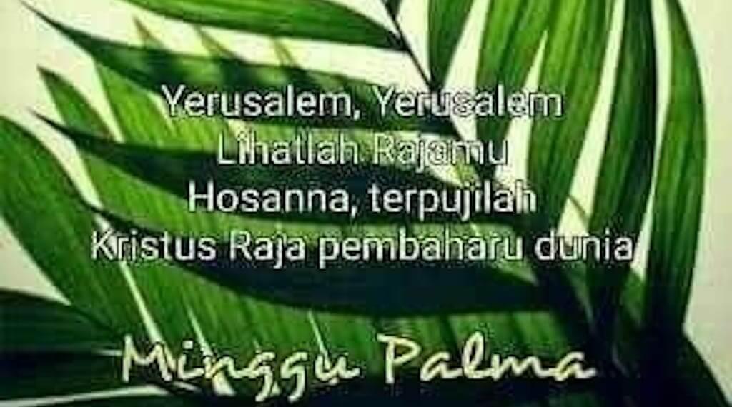 Refleksi Minggu Palma Mengenangkan Sengsara Kristus, Hamba Yahwe Yang Menderita