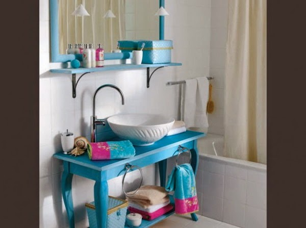 Blue Bathroom Design Ideas 6